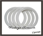 [lg1916] Vintage Collector Car Automobile Wheel White Wall Tires 13