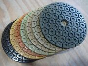 5 Higher Diamond Concentration Polishing Pad 120 Pc Concrete Glass Marble Stone