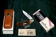 Schrade 5ot Lockback Knife Ducks Unlimited Inscribed 1980's W/packaging,papers