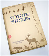 Coyote Stories By Mourning Dove 1933 Signed 1st. First Edition In Dust Jacket