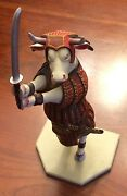 Cow Parade Retired Figurine Sam-moo-rai Limited Edition Numbered 10