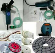 Variable Speed Wet Polisher Masonry Aggregate Concrete Floor Counter Top Grinder