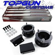 For 94-02 Dodge Ram 1500 2500 3500 4wd 2 Front Lift Kit Shocks W/ Sway Bar