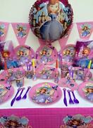 Sofia The First Princess Party Supplies Pack Perfect For 10 Guests