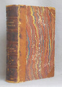 Antique Leather 1876 Bible Lands Illustrated Henry Fish Pictorial Handbook