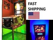 Metallica Master Of Puppets Pinball Machine Mod Color Changing Led Light Part