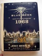 1968 Blue Book General Merchandise Catalog Hardback Great Mid-century Stuff
