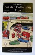 1990 Mint And Boxed Popular Collectable Toy Catalog W/ Matchbox Cars
