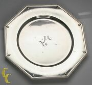 Alvin Richmond Sterling Silver 10 Plate Charger Some Wear, Nice Replacement