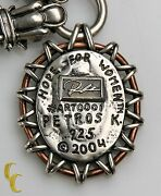 Petros K. 2004 Hope For Women Sterling Silver .925 Designer Toggle Chain 24