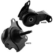 Right Engine Motor And Left Transmission Mounts For Honda Element 06-03 2.4l Auto