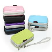 Portable 2.5 Hdd Hard Disk Drive Battery Storage Box Zipper Carrying Case Shell