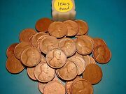 1926-s Lincoln Wheat Cent Penny Roll , Nice Condition, Rare Date