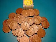 1926-s Lincoln Wheat Cent Penny Roll Nice Condition Rare Date