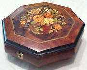 Reuge Music Large Musical Jewelry Box With 36 Note Mvt-unchained Melodya.north