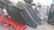 Harley Stretched 7 Down 14 Back Saddlebags And Overlay Fender