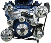 Bbc Chevy Crossover Style Serp Drive Kits Dual Stage W/power Steering 625-8283