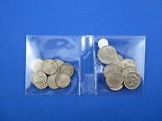 Christmas Pudding Threepence And Sixpences. You Buy 1 Pack Of 16 Coins.