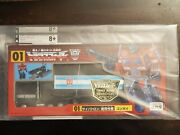 Transformers Optimus Prime Jafcon 2000 Tokyo Toys Show Exclusive Cad Grading 8+