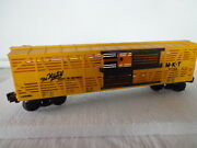 Lionel O And 027 M-k-t Cattle Car The Katy 9725