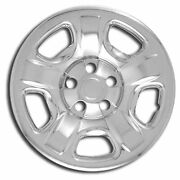Premium Fx Chrome 16-inch Wheel Skin Covers Set Of 4 For 2002-07 Jeep Liberty