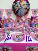 Disney Sofia The First Birthday Party Supplies 102 Pc Perfect For 10 Guests