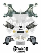 Chevy C1500 Silverado 1988-98 Extended Cab 2/4 Lowering Drop Kit Belltech
