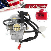 30mm Carburetor W/ Electric Carb For Cf250 250cc Atv Go Kart Moped Scooter