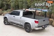 Bak Bakflip Cs-f1 Hard Folding Tonneau Cover Integrated Rack 6andrsquo2andrdquo Bed - 72407bt