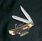 Schrade Walden 285uh Knife Circa-1967 Serial 81611 Early Uncle Henry Trapper