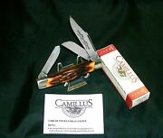 Camillus 89 Knife Sword Brand Usa Circa-1975 Indian Stag W/packagingpapers Rare