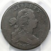 1798 S-165 R-4 Pcgs Vg 10 2nd Hair Style Draped Bust Large Cent Coin 1c