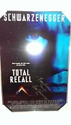 Total Recall Autographed Movie Poster Signed Arnold Schwarzenegger To Danielle