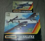 Lot Of 2matchbox Model Kits Armstrong Whitworth Meteor And Halifax Pk-129 Pk-604