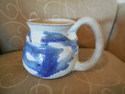 RARE EARTH POTTERY - Ocean E. Mall - Handcrafted Pitcher - Signed