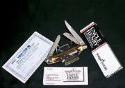 Schrade 897uh Knife Signature 3-9/16 Uncle Henry W/original Packaging,papers