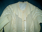 Antiques Extremely Rare Antique Ladies Silk Shirt Blouse
