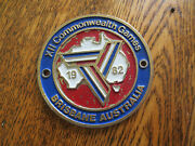 1982 Commonwealth Games Car Badge For Ford Holden Chev Austin Morris Rover Mg