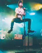 Matt Shultz Signed Autographed 8x10 Photo Lead Singer Of Cage The Elephant F
