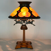 Arts And Crafts 14-inch Panel Lamp