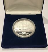 2 Oz Sunshine Minting Company Building Proof .999 Fine Silver Coin Round Idaho