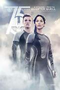 The Hunger Games Catching Fire - 27x40 D/s Original Movie Poster One Sheet 2013