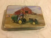 Smith And Wesson John Deere Tractor Ride Knife And Tin Sandw Tractor Ride Free Ship