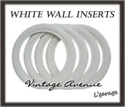 [lg3053] Vintage Collector Car Automobile Wheel White Wall Tires 12