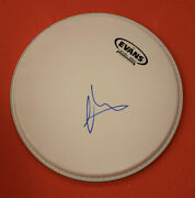 Matt Shultz Signed Autographed 10 Drumhead Lead Singer Of Cage The Elephant