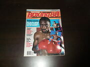 April 1988 Boxing Magazine Thomas Hearns Why Will You Defeat Hagler And Leonard