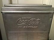Vintage 1953 Coca Cola Cooler/ice Chest-metal-made In Kentucky 490