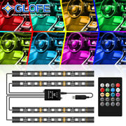 Under Dash Footwell Led Interior Light Kit For All Cars Accent Light Glow Neon