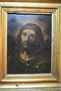 Christ With Crown Of Hawthorn. Oil On Copper. Baroque. 16th - 17th Century