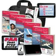 Gleim Deluxe Private Pilot Kit W/online Ground School, Test Prep And Audio Review